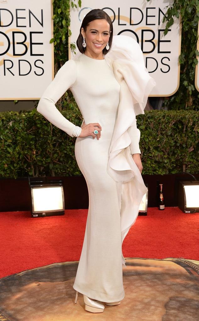 Paula Patton, Golden Globes 2014