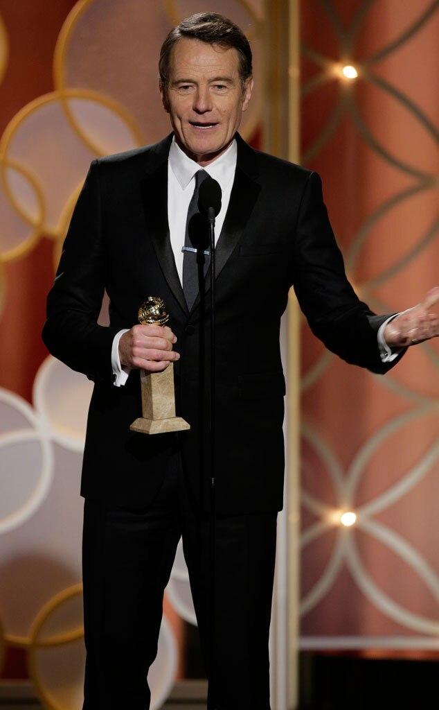 Bryan Cranston, Golden Globes 2014, Winner