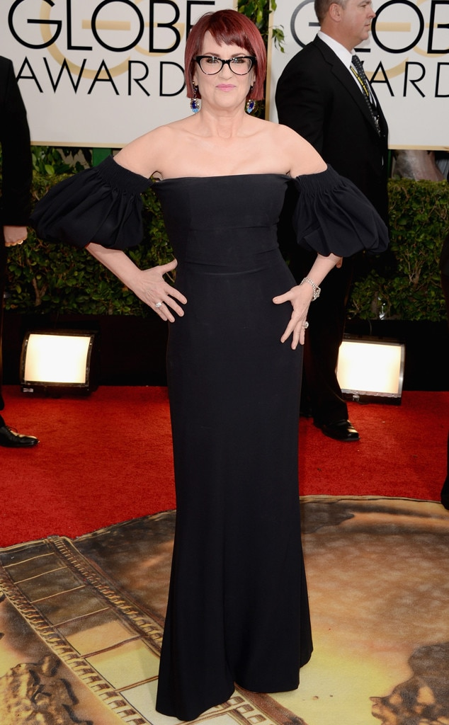 Megan Mullally, Golden Globes