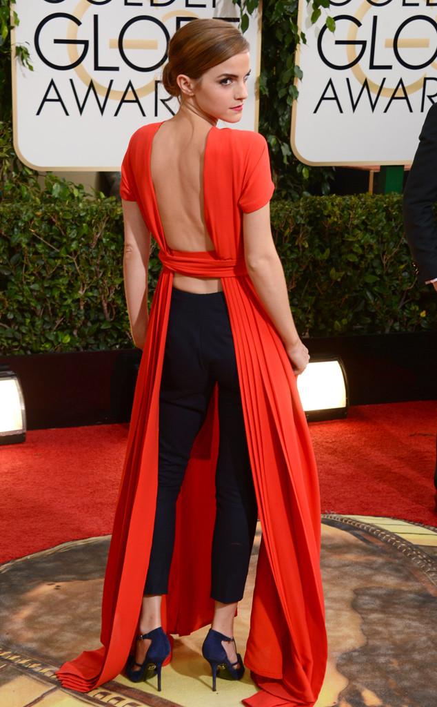 ESC: Emma Watson, Golden Globes 2014, Riskiest Looks