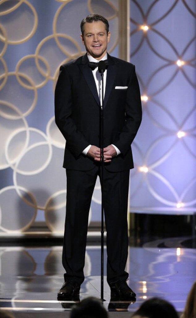 Matt Damon, Golden Globe Awards