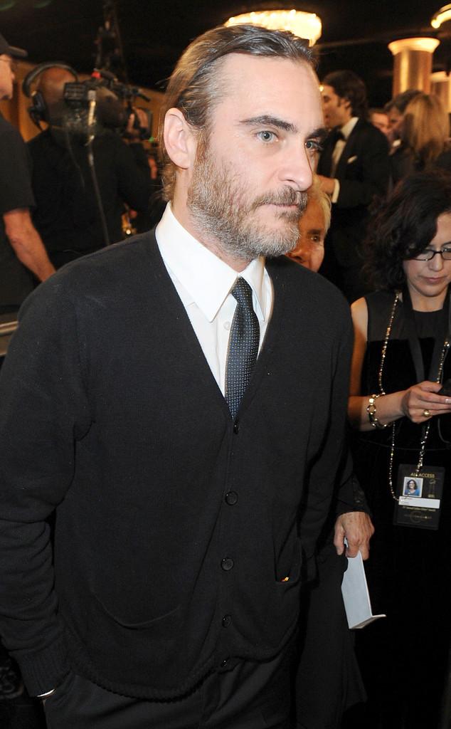 Joaquin Phoenix, Golden Globes 2014