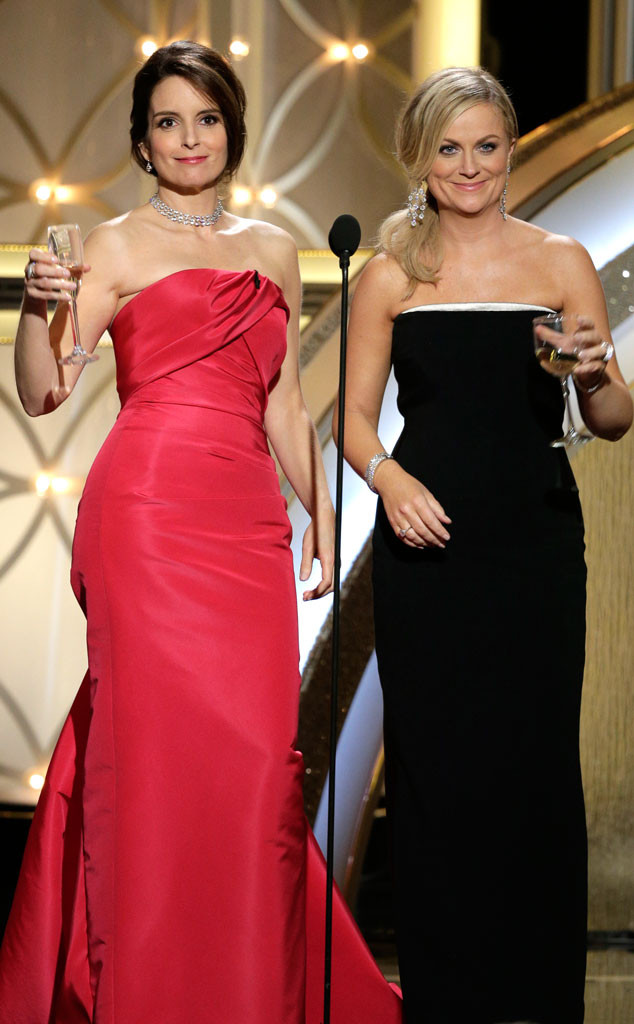 Tina Fey, Amy Poehler, Golden Globes, Memorable Moments, 2014