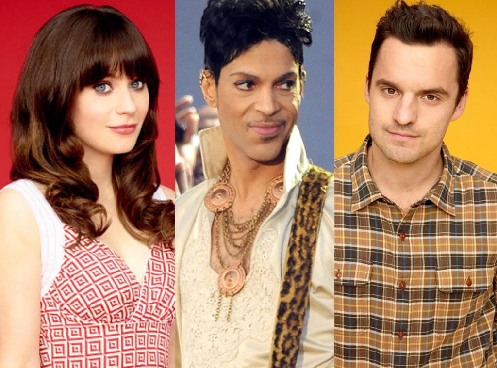 Prince, New Girl, Jack Johnson, Zooey Deschanel