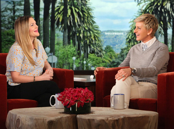 Drew Barrymore, Ellen DeGeneres