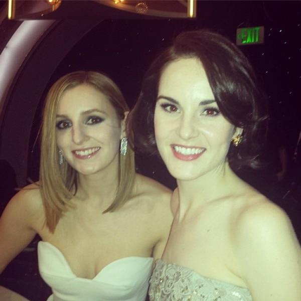 Golden Globes Twit Pics, Instagrams