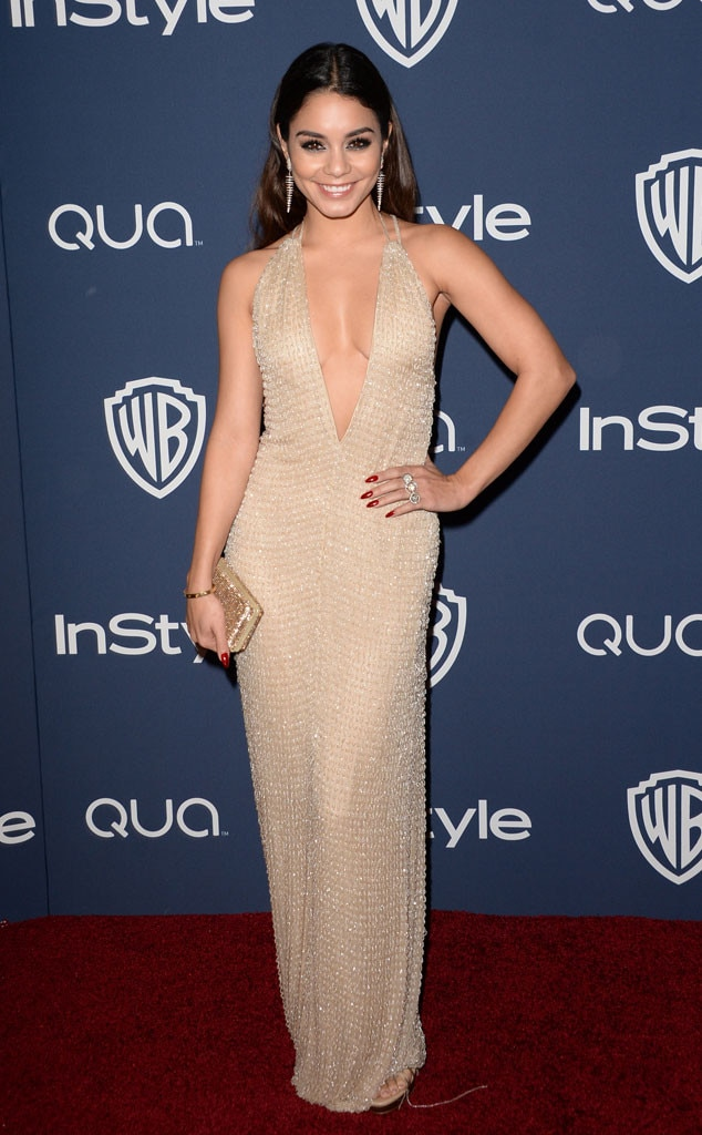 Vanessa Hudgens, Golden Globes 2014 InStyle After Party