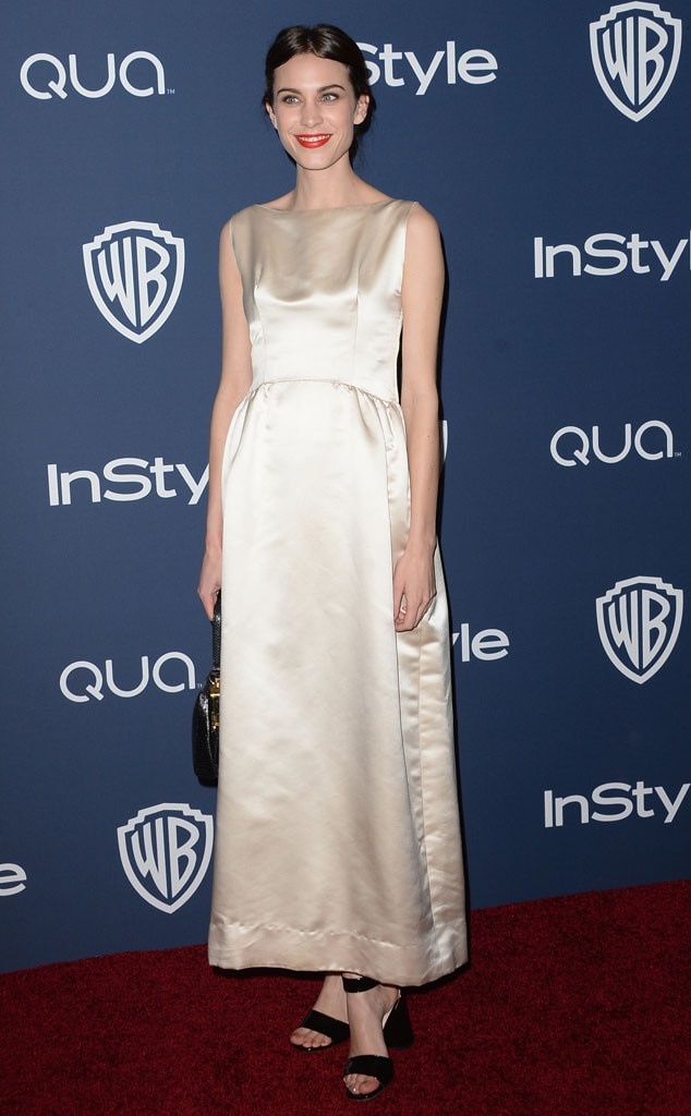 Alexa Chung, Golden Globes 2014 After Party