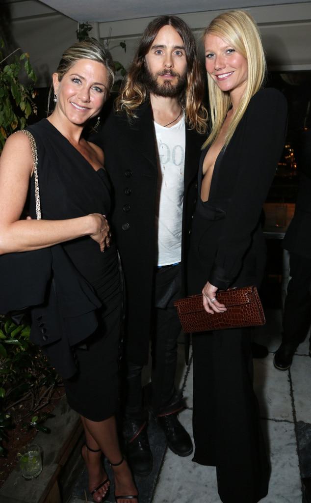 Jennifer Aniston, Jared Leto, Gwyneth Paltrow