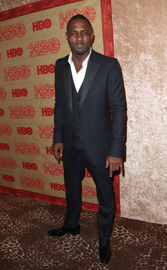 Idris Elba, Golden Globes 2014 After Party
