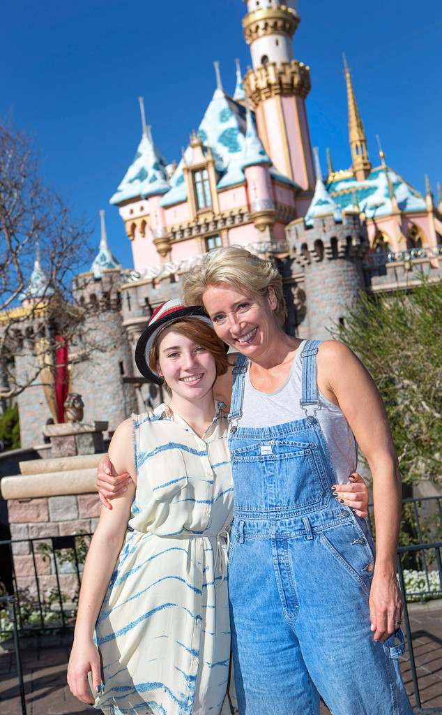 Emma Thompson, Gaia, Disneyland