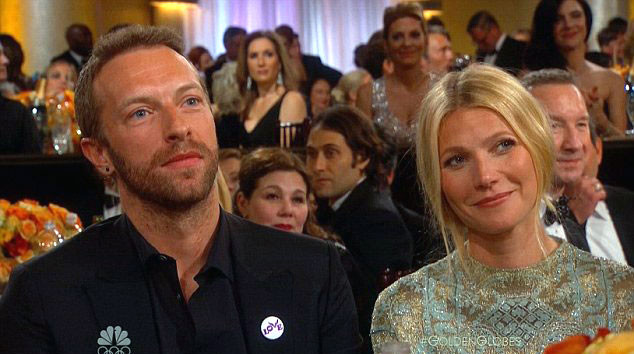 Chris Martin, Gwyneth Paltrow, Golden Globes 2014