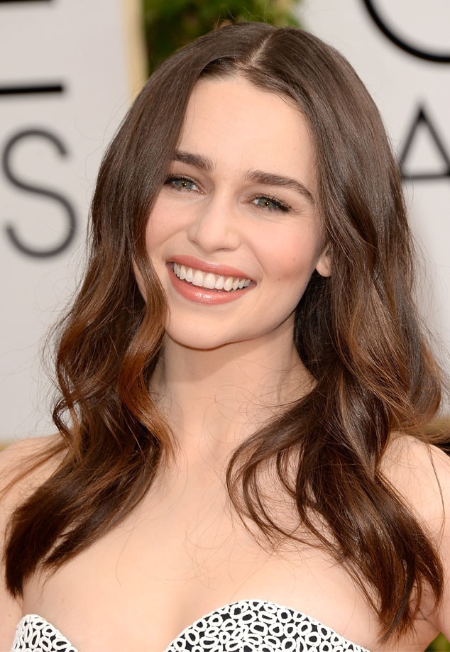 Emilia Clarke, Golden Globe Awards