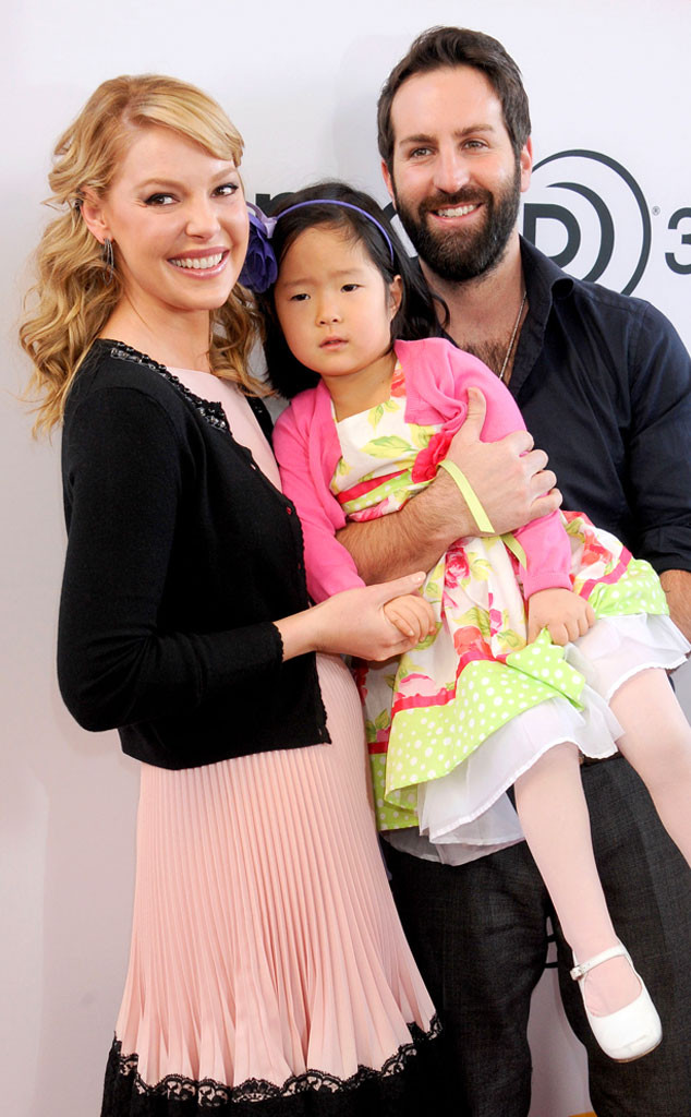 Katherine Heigl, Josh Kelley, Naleigh, 2014