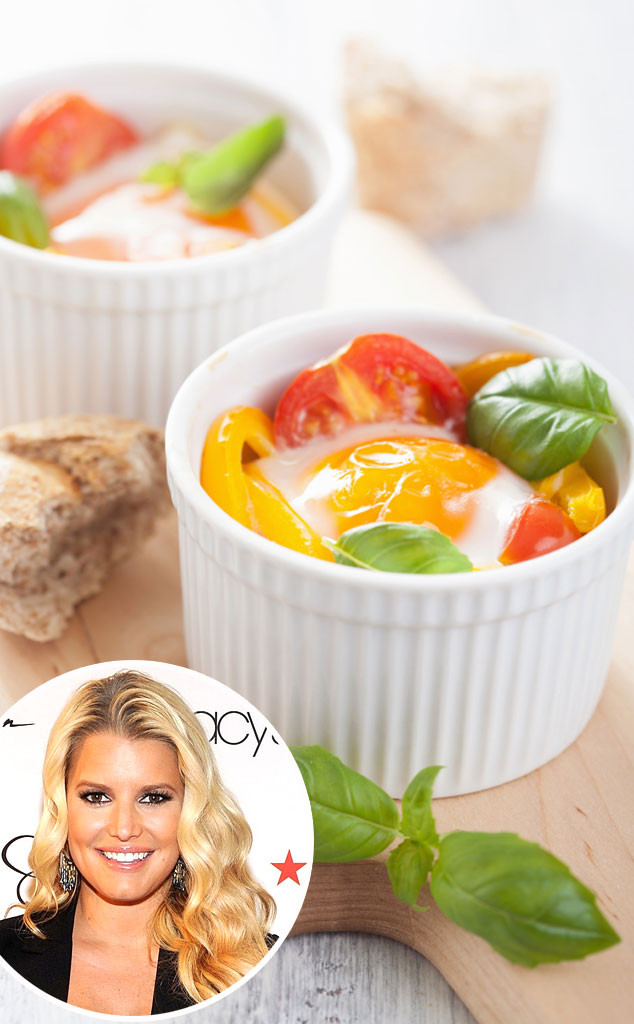 Jessica Simpson, Veggie Egg Ramekin