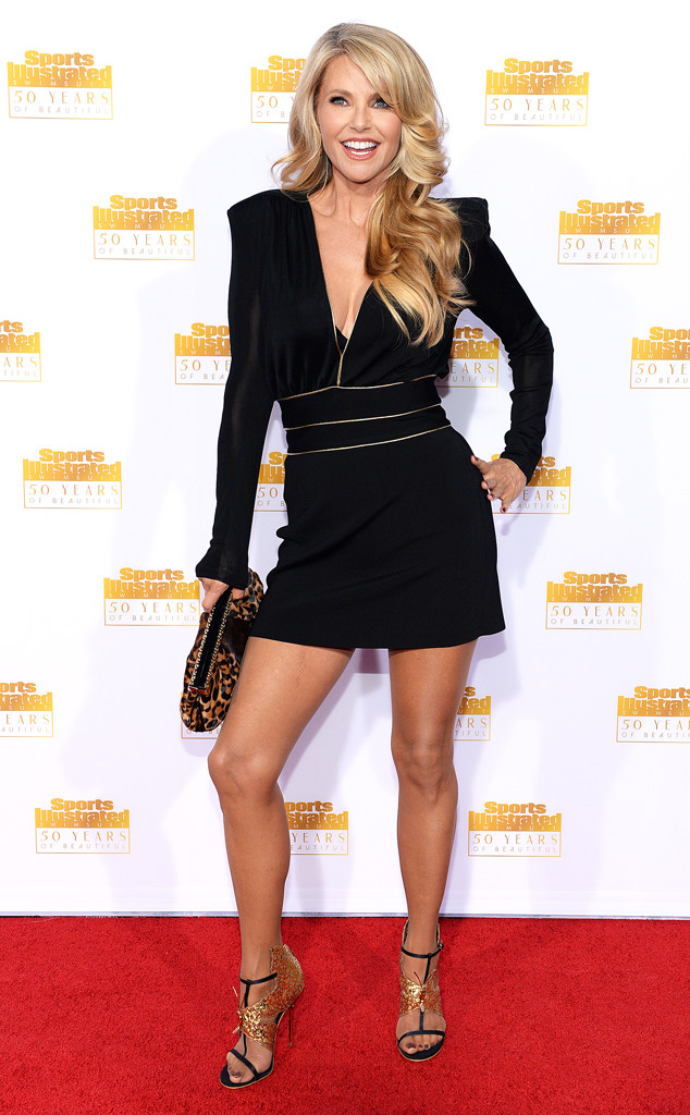Christie Brinkley, Sports Illustrated Party