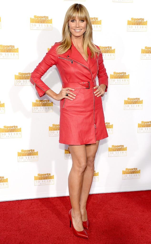 Heidi Klum, Sports Illustrated Party