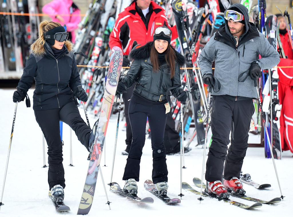 Kim Kardashian, Kourtney Kardashian, Scott Disick