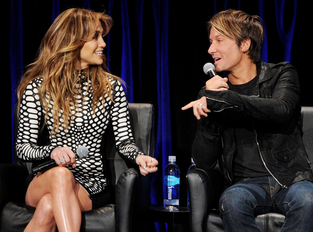 Jennifer Lopez, Keith Urban