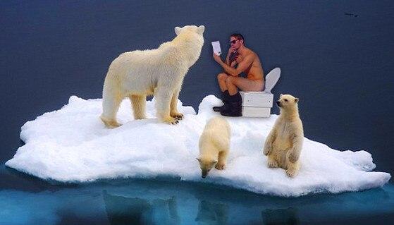 Alexander Skarsgård Naked on a Toilet 5 from Photoshop
