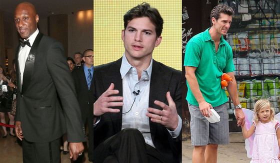 Lamar Odom, Ashton Kutcher, Jason Hoppy