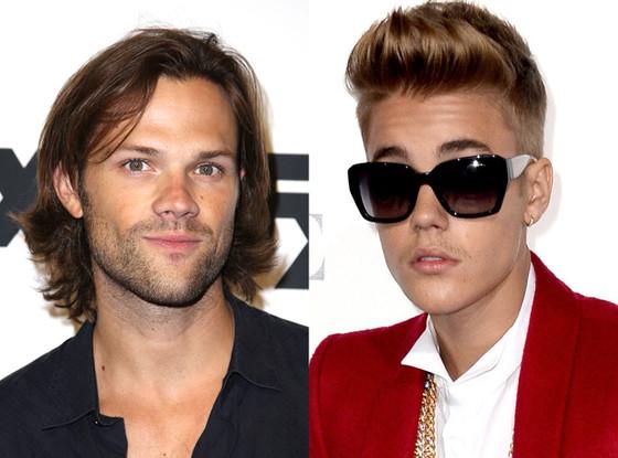 Justin Bieber, Jared Padalecki