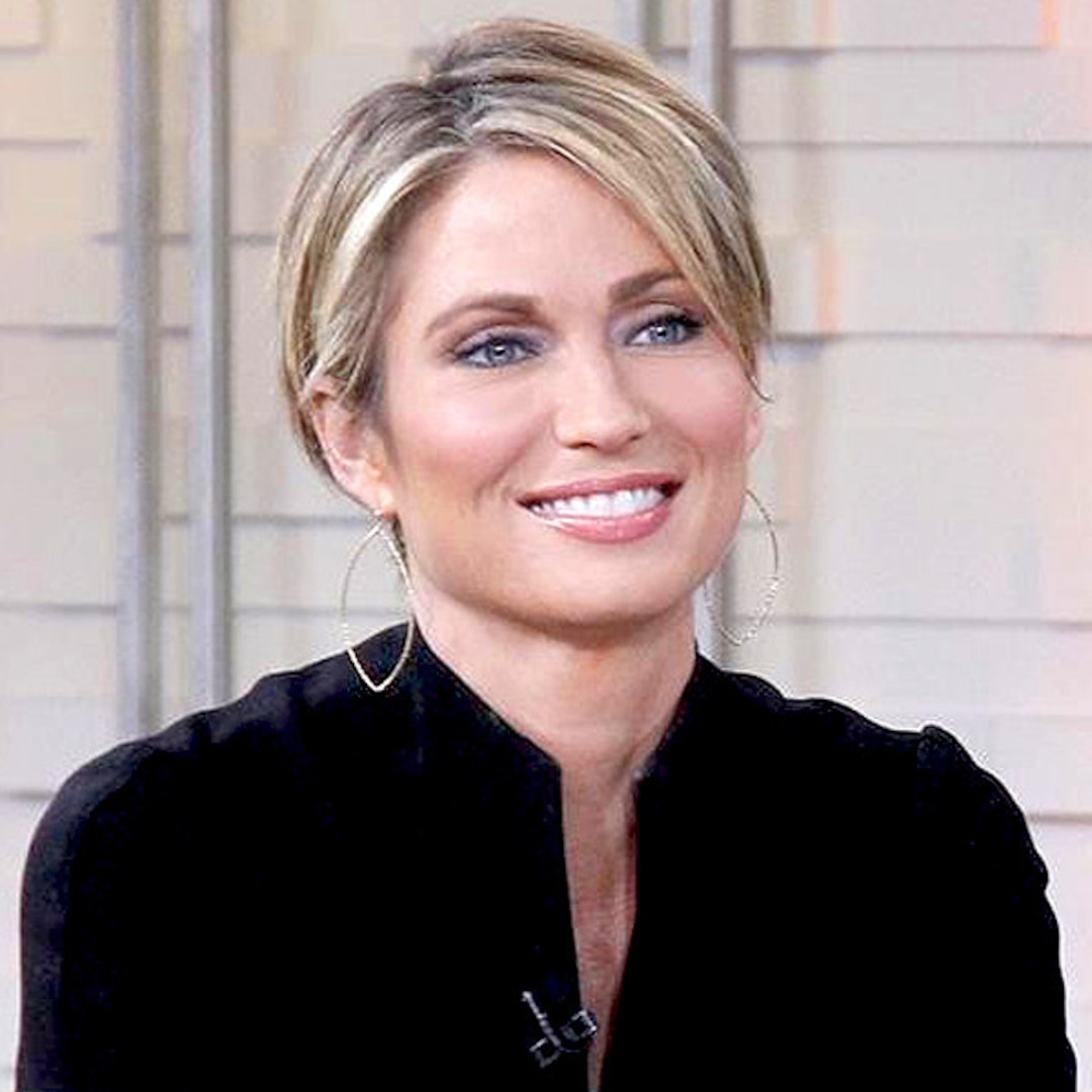 """Amy Robach Cuts Hair Short To """"Take Control"""" Away From"""