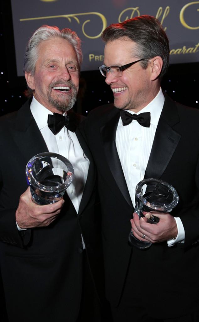 Michael Douglas, Matt Damon
