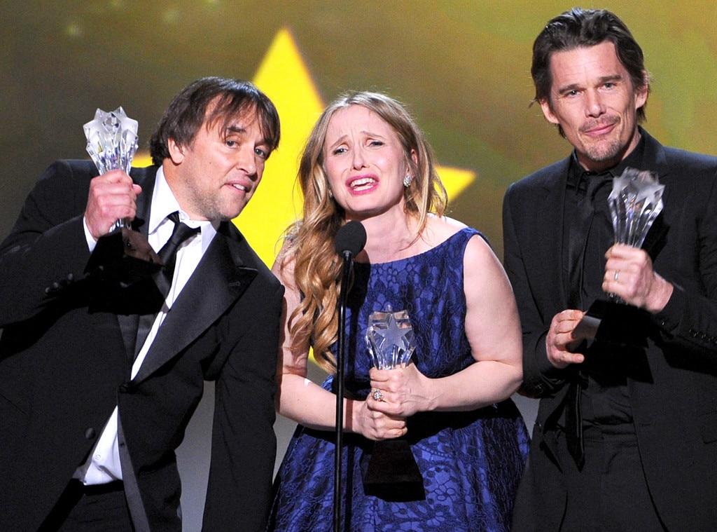 Richard Linklater, Julie Delpy, Ethan Hawke, Critics' Choice Movie Awards