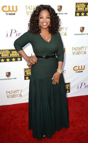 Oprah Winfrey, Critics' Choice Movie Awards
