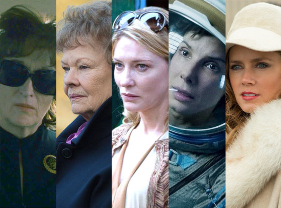 Best Actress, Oscars, Meryl Streep, Judi Dench, Cate Blanchett, Sandra Bullock, Amy Adams