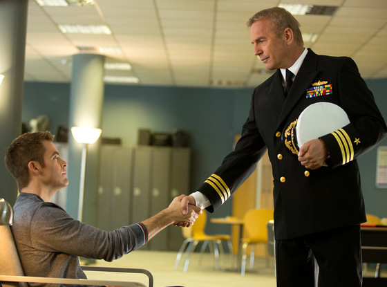 Chris Pine, Kevin Costner, Jack Ryan: Shadow Recruit