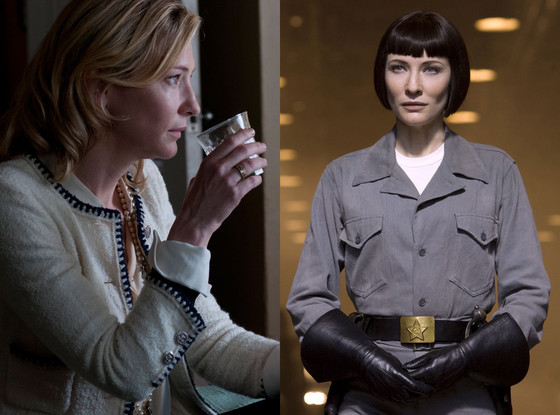 Cate Blanchett, Blue Jasmine, Indiana Jones and the Kingdom of the Crystal Skull