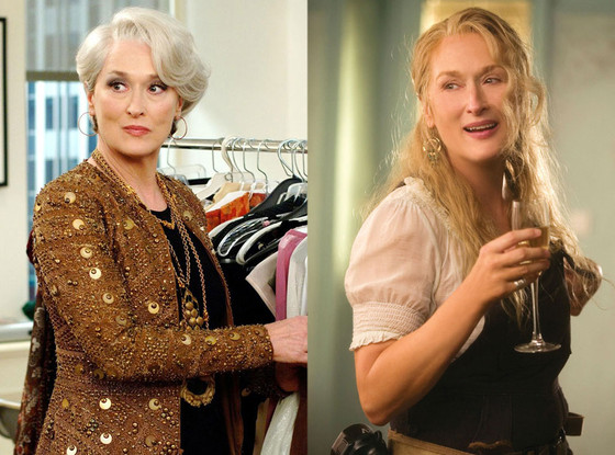 Meryl Streep, The Devil Wears Prada, Mamma Mia!