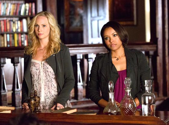 The Vampire Diaries, Candice Accola, Kat Graham