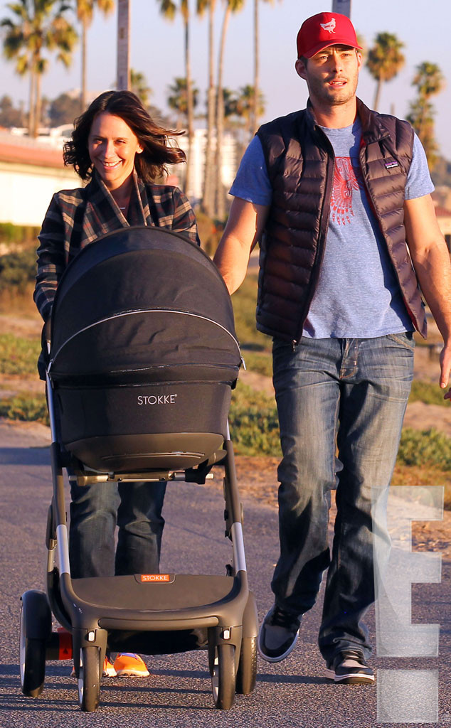 Jennifer Love Hewitt Out With Baby Autumn and Husband Brian Hallisay: See First Photos of the Star Since Daughter's Birth!