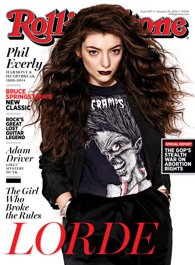 Lorde, Rolling Stone