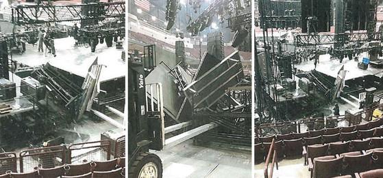 Luke Bryan Stage Collapse
