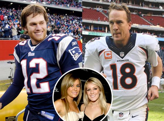 Tom Brady, Peyton Manning, Heidi Montag, Lauren Conrad