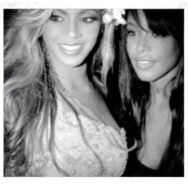 Aaliyah, Beyonce, Instagram