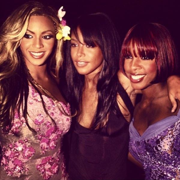 Aaliyah, Beyonce, Kelly Rowland, Instagram