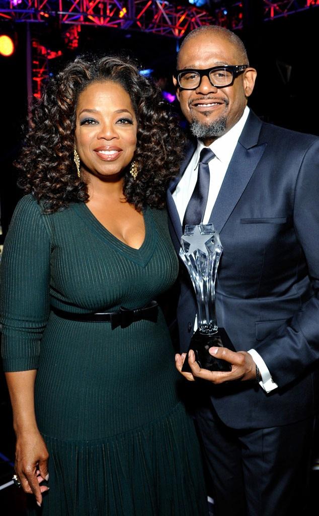 Oprah Winfrey, Forest Whitaker
