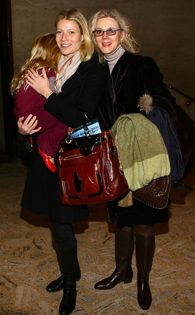 Blythe Danner, Gwyneth Paltrow, Apple Martin