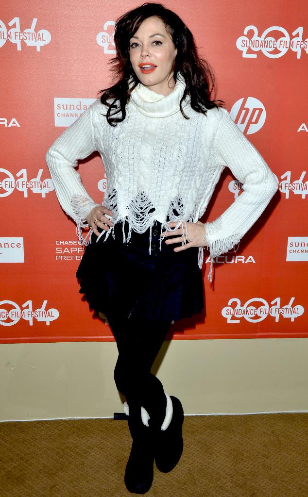 Rose McGowan, 2014 Sundance Film Festival