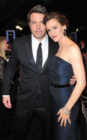 Ben Affleck, Jennifer Garner, SAG Awards