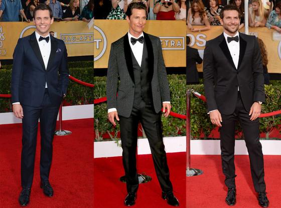 James Marsden, Matthew McConaughey, Bradley Cooper, SAG Awards
