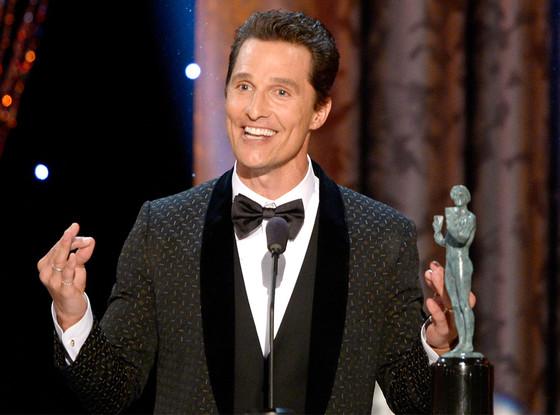 Matthew McConaughey, SAG Awards