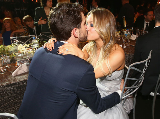 Kaley Cuoco, Ryan Sweeting, SAG Candids