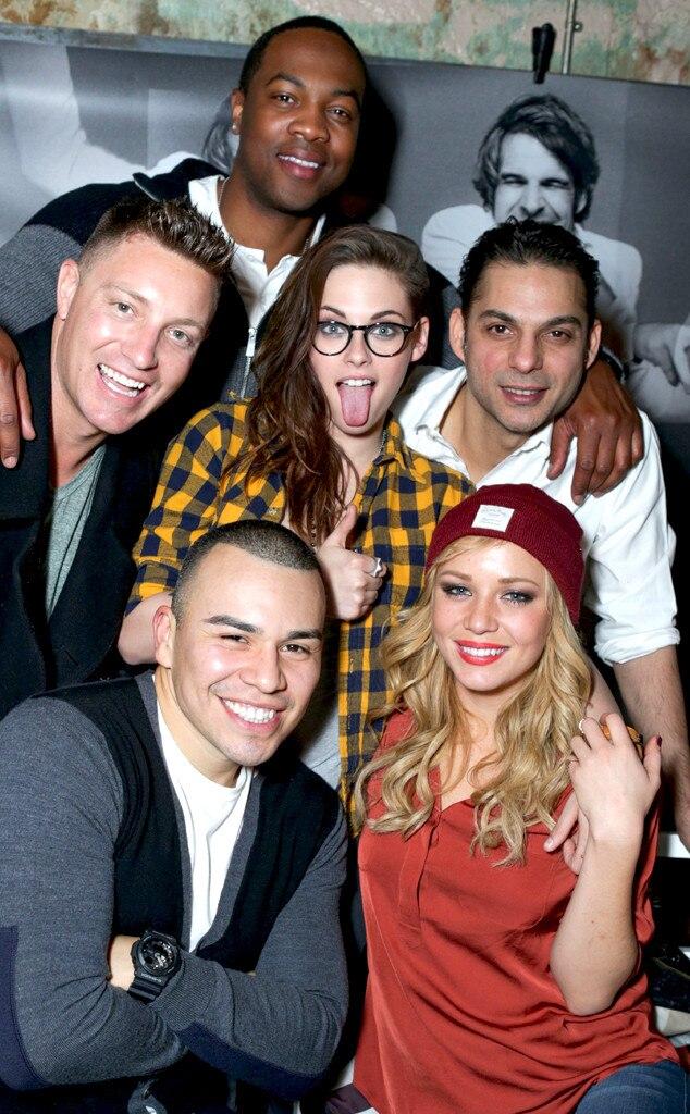 Ser'Darius Blain, Lane Garrison, Kristen Stewart, Peyman Moaadi, JJ Soria, Tara Holt, 2014 Sundance Film Festival