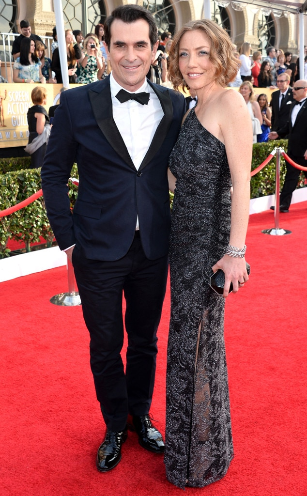 Ty Burrell, Holly Anne Brown, SAG Awards